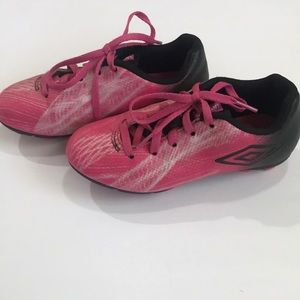 Pink Umbro Soccer Clears